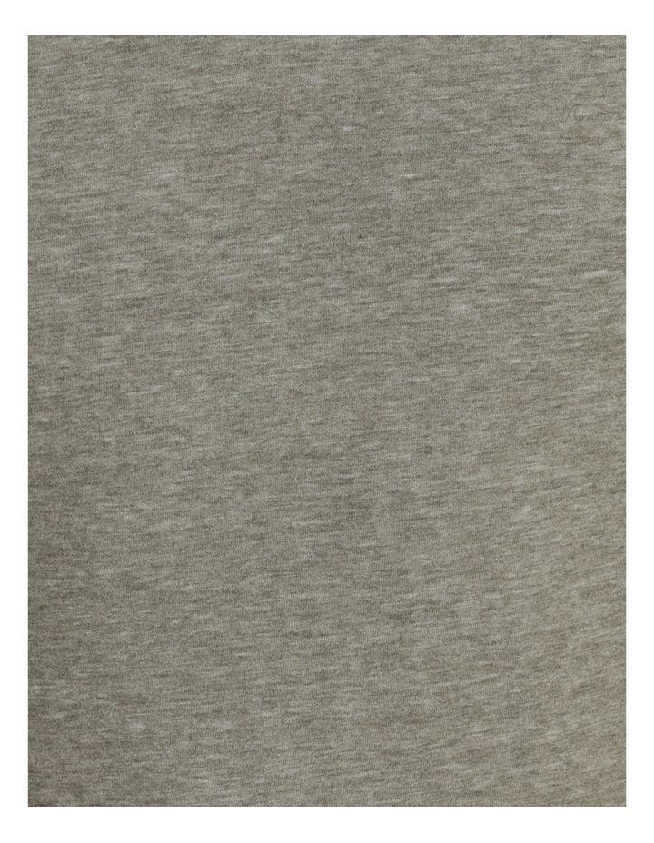 Hudson Short Sleeve Henley Khaki image 7