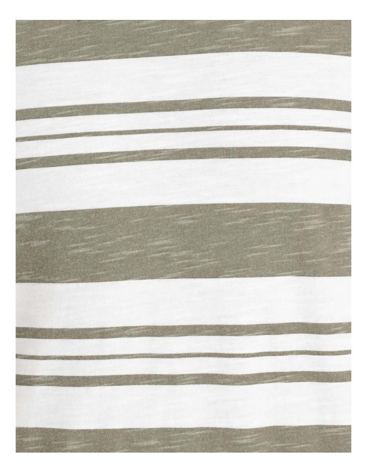 Tyson Stripe Short Sleeve Tee Khaki image 7