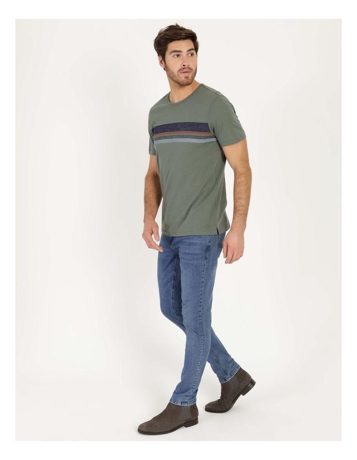 Singaraja Printed Stripe Short Sleeve Tee image 6