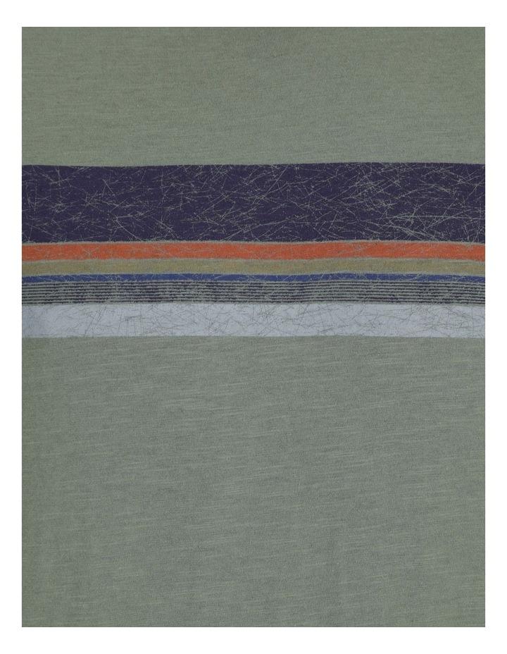 Singaraja Printed Stripe Short Sleeve Tee image 7