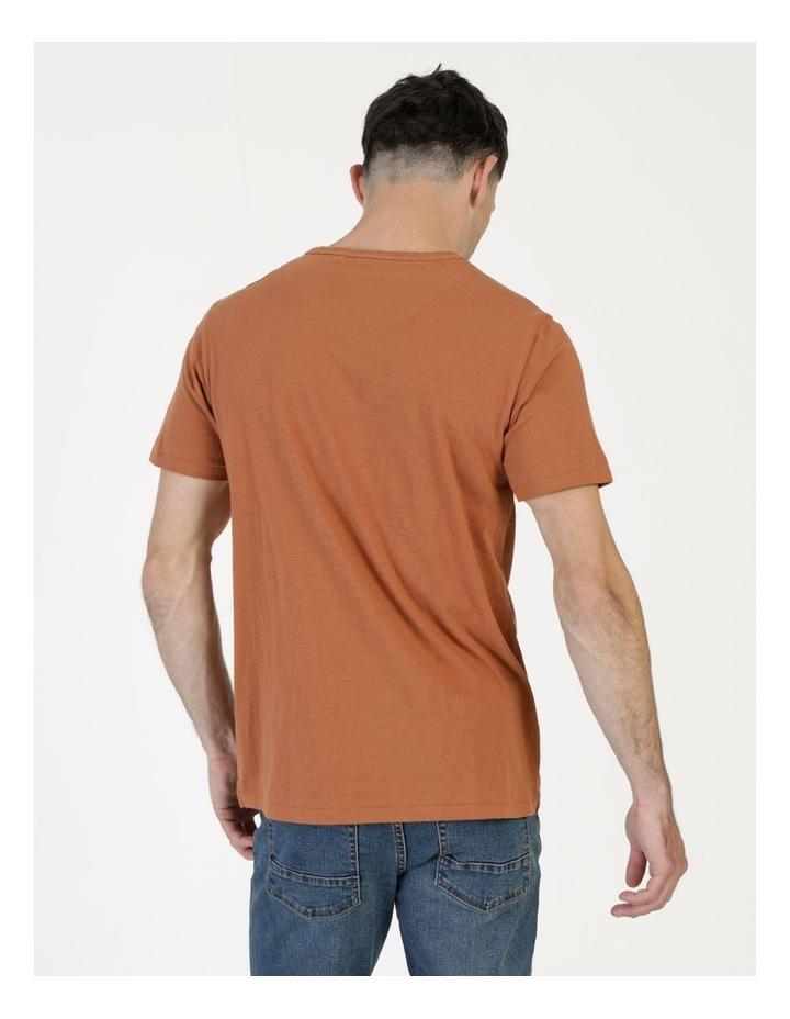 Melasti Printed Stripe Short Sleeve Tee image 6