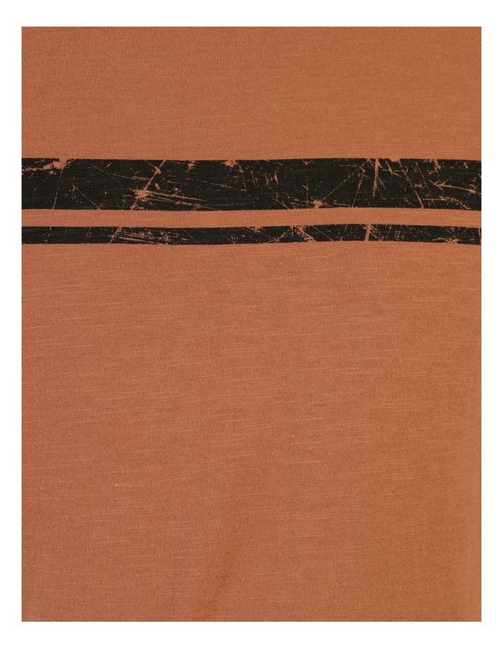 Melasti Printed Stripe Short Sleeve Tee image 7