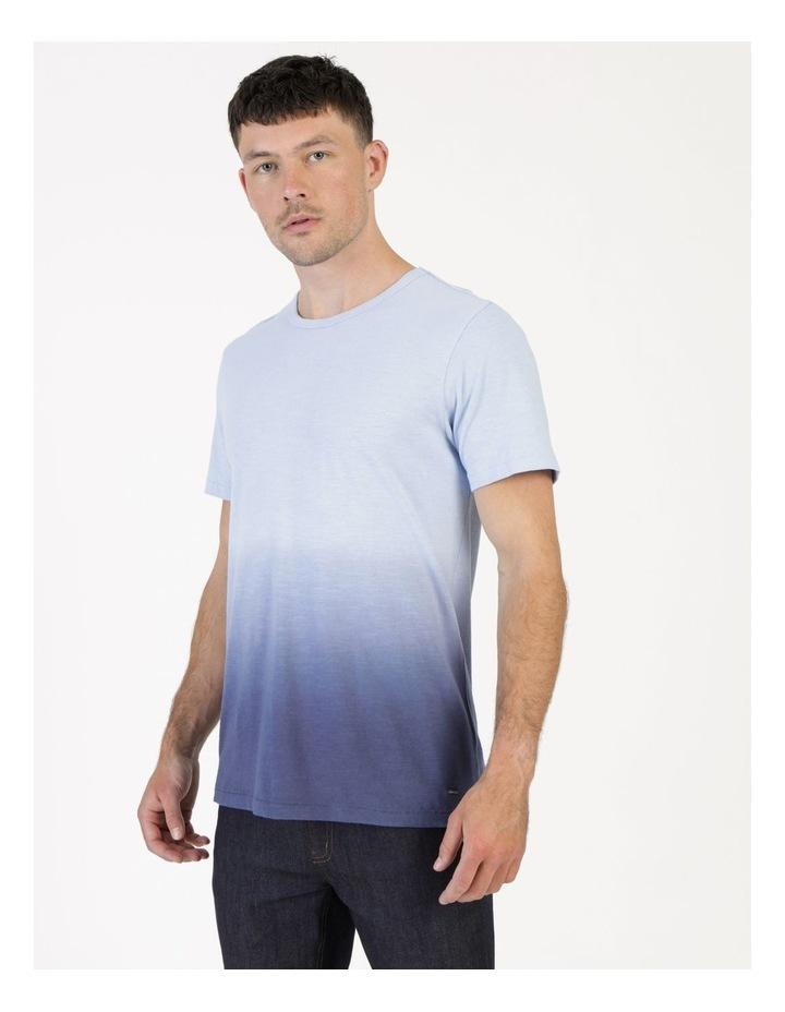 Biru Dip Dye Short Sleeve Tee image 3