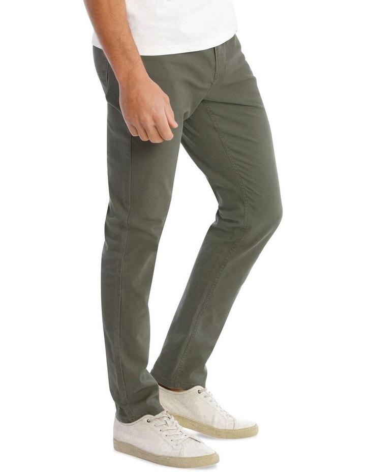 Nicholas 5 Pocket Pant in Khaki image 2
