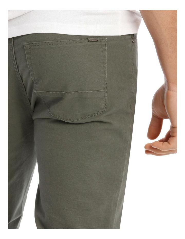 Nicholas 5 Pocket Pant in Khaki image 4