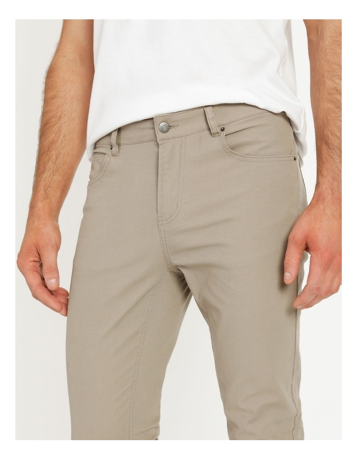 Nicholas 5 Pocket Pant Sand image 2