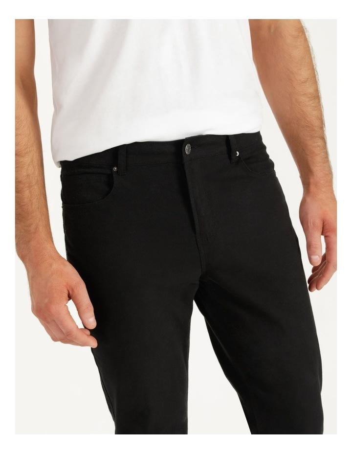 Nicholas 5 Pocket Pant Black image 2