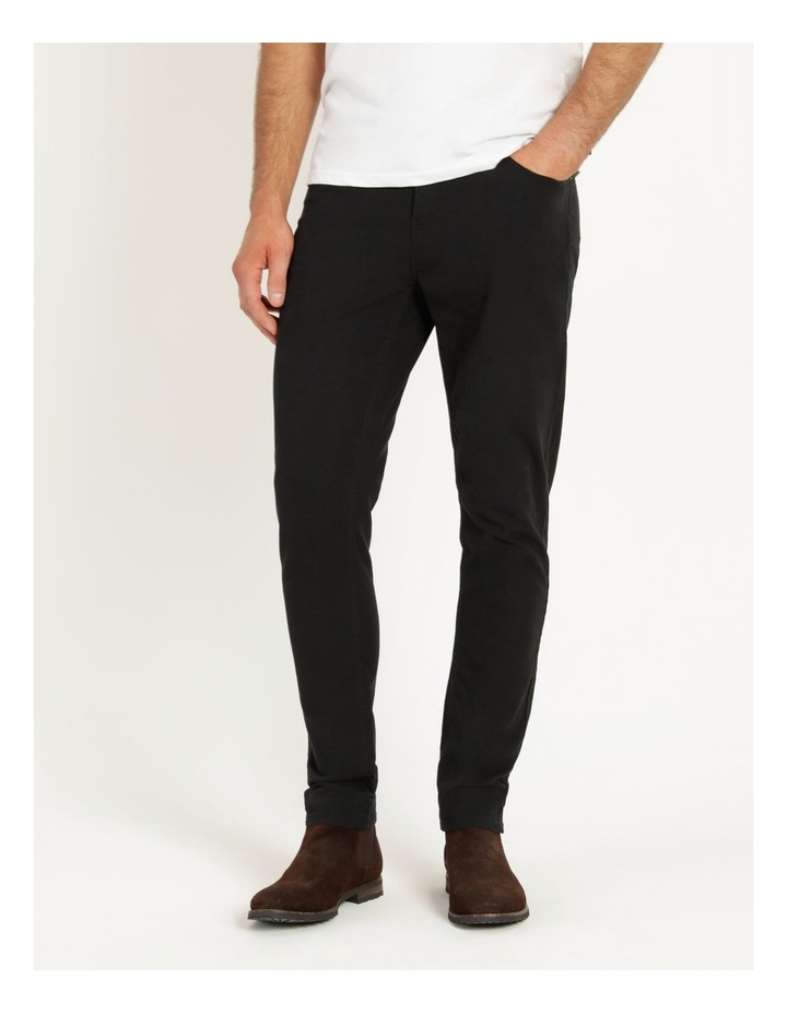 Nicholas 5 Pocket Pant Black image 4
