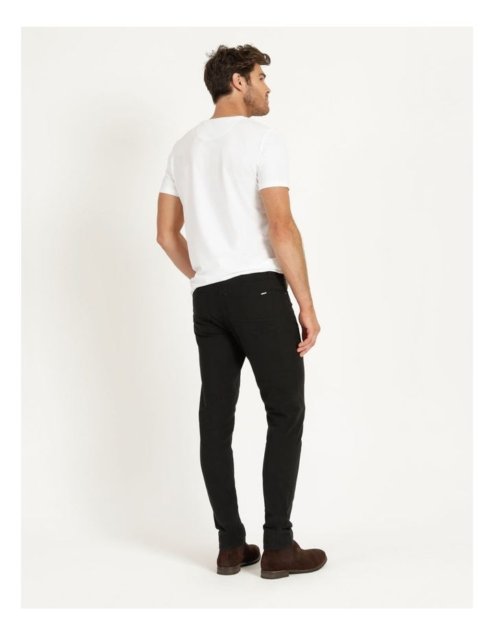 Nicholas 5 Pocket Pant Black image 5