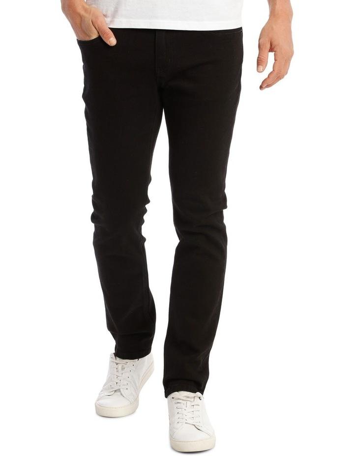 Kristian Slim Tapered Black Jean image 1