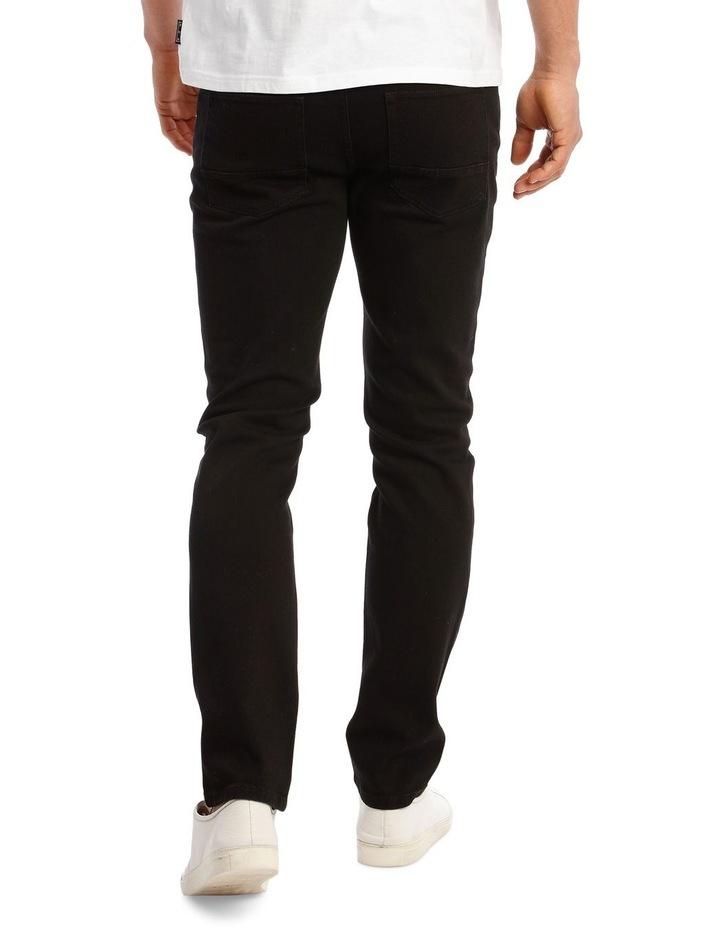 Kristian Slim Tapered Black Jean image 3
