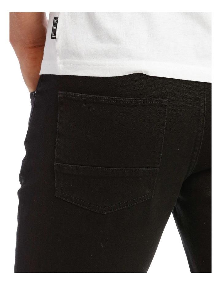 Kristian Slim Tapered Black Jean image 4