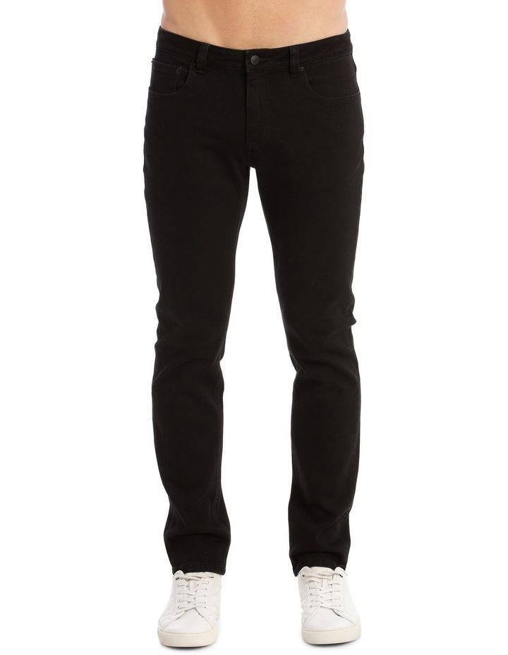 Kristian Slim Tapered Black Jean image 5