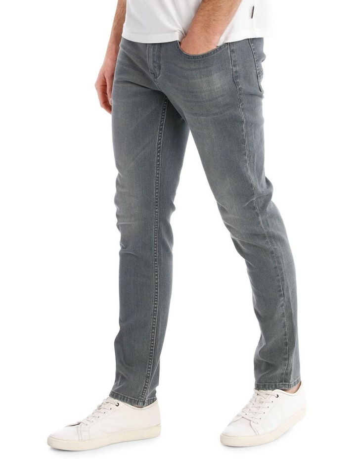 Limited Edition Smith Jean in Grey image 2