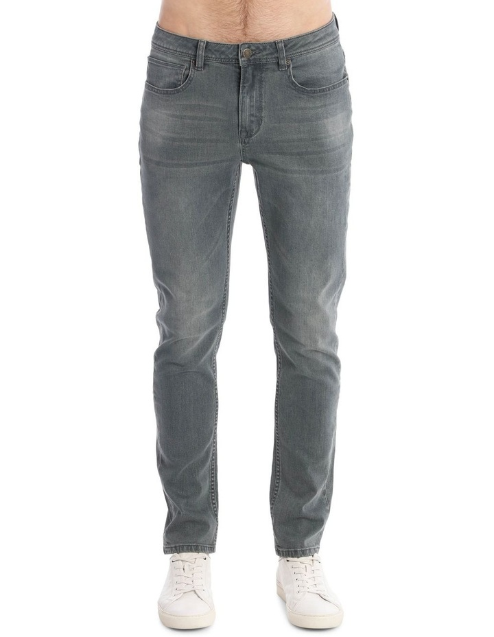 Limited Edition Smith Jean in Grey image 5