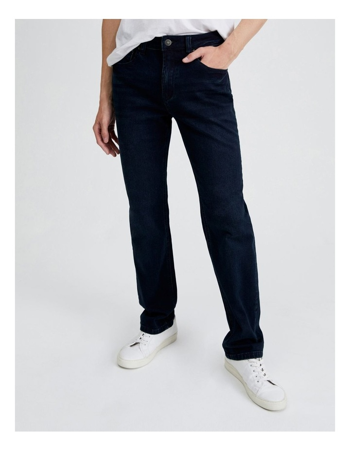 Dylan Regular Straight Jean  in Dark Denim image 1