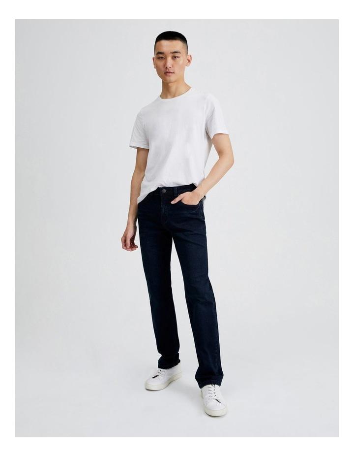 Dylan Regular Straight Jean  in Dark Denim image 2