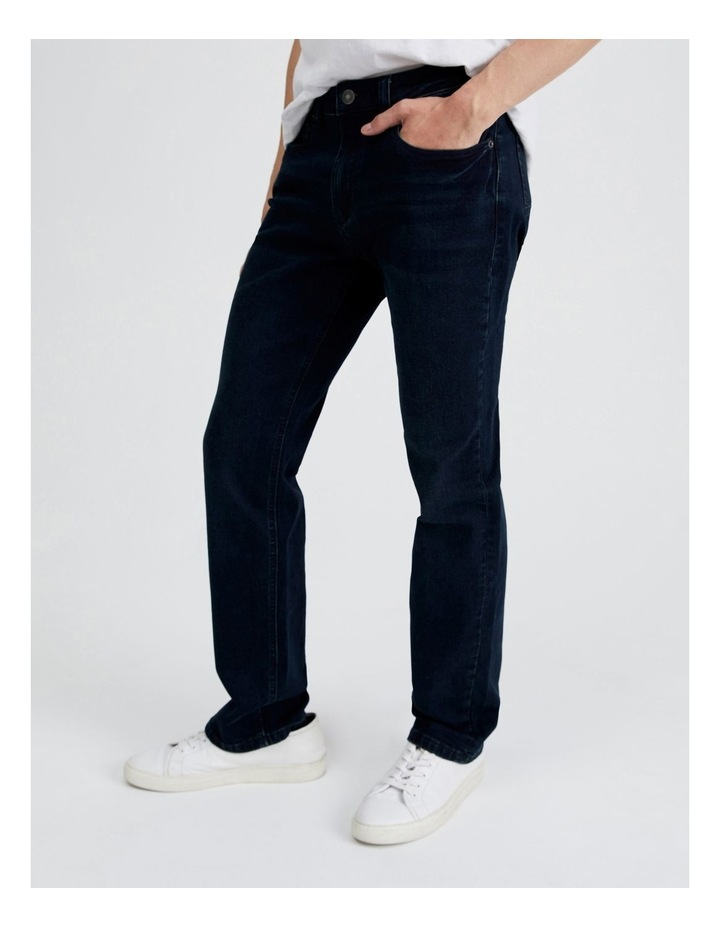 Dylan Regular Straight Jean  in Dark Denim image 3