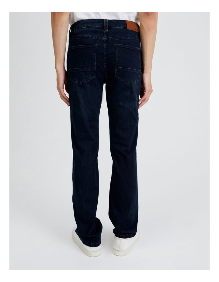 Dylan Regular Straight Jean  in Dark Denim image 4
