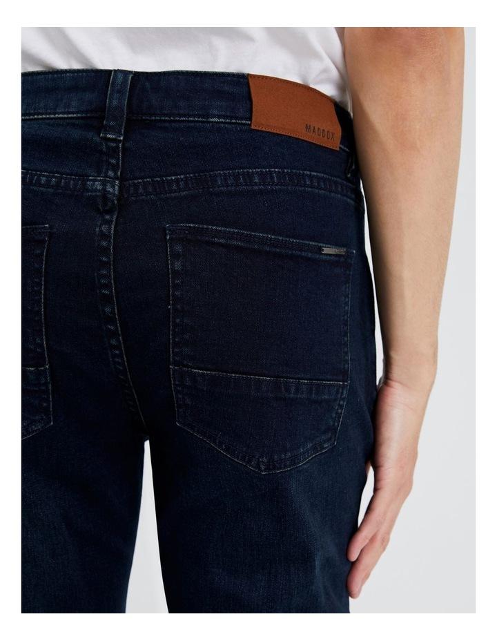 Dylan Regular Straight Jean  in Dark Denim image 5