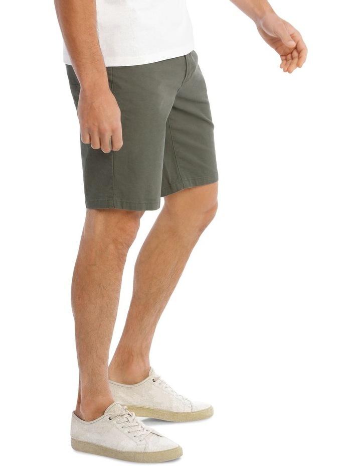 Easton 5 Pocket Short in Khaki image 2