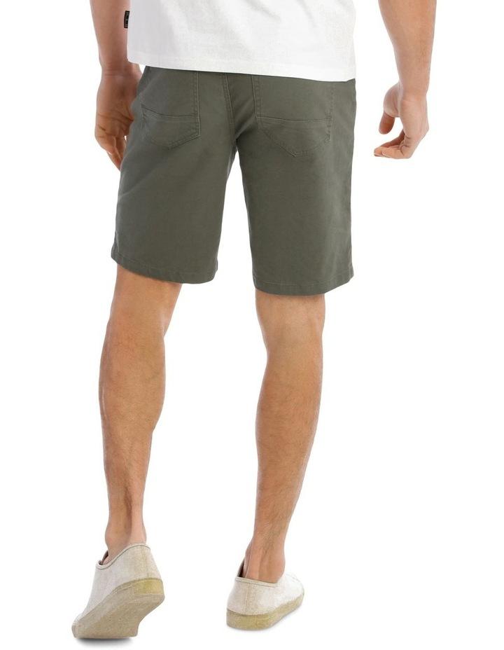 Easton 5 Pocket Short in Khaki image 3