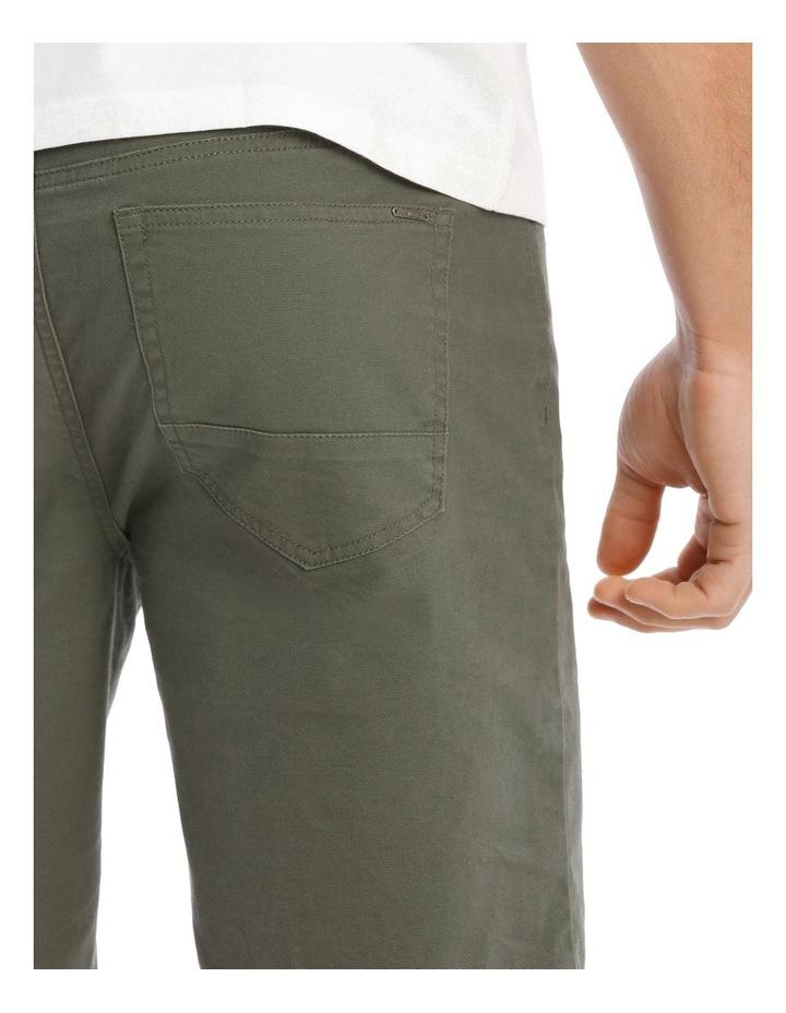Easton 5 Pocket Short in Khaki image 4