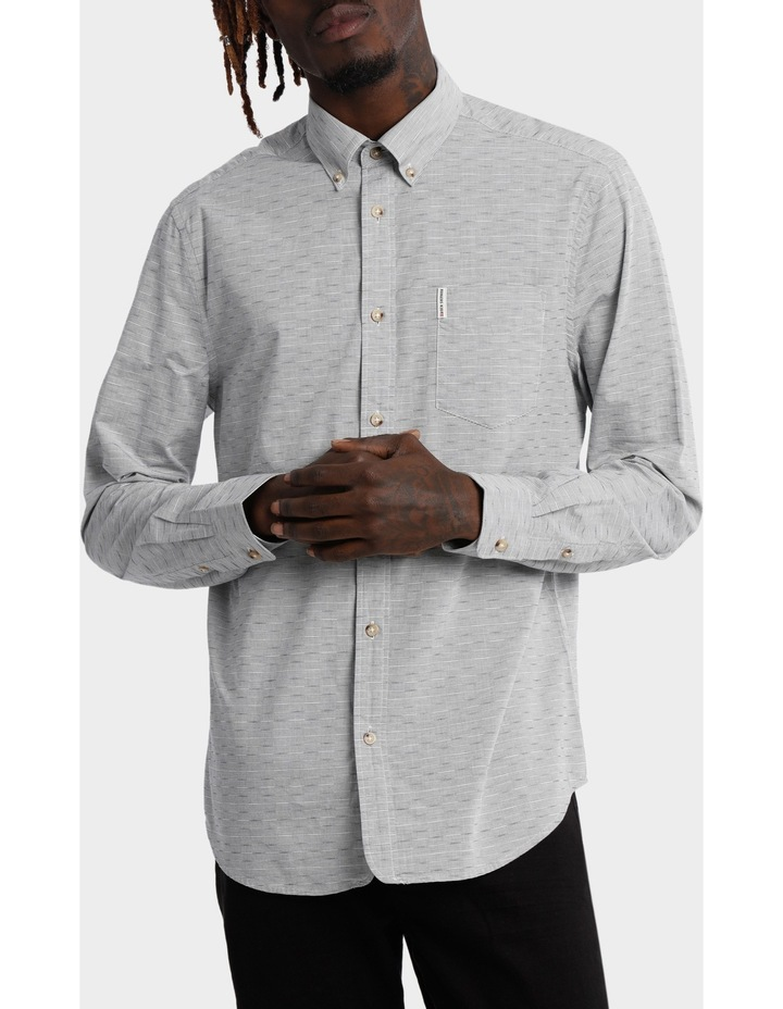 Long Sleeve Geo Texture Shirt image 1