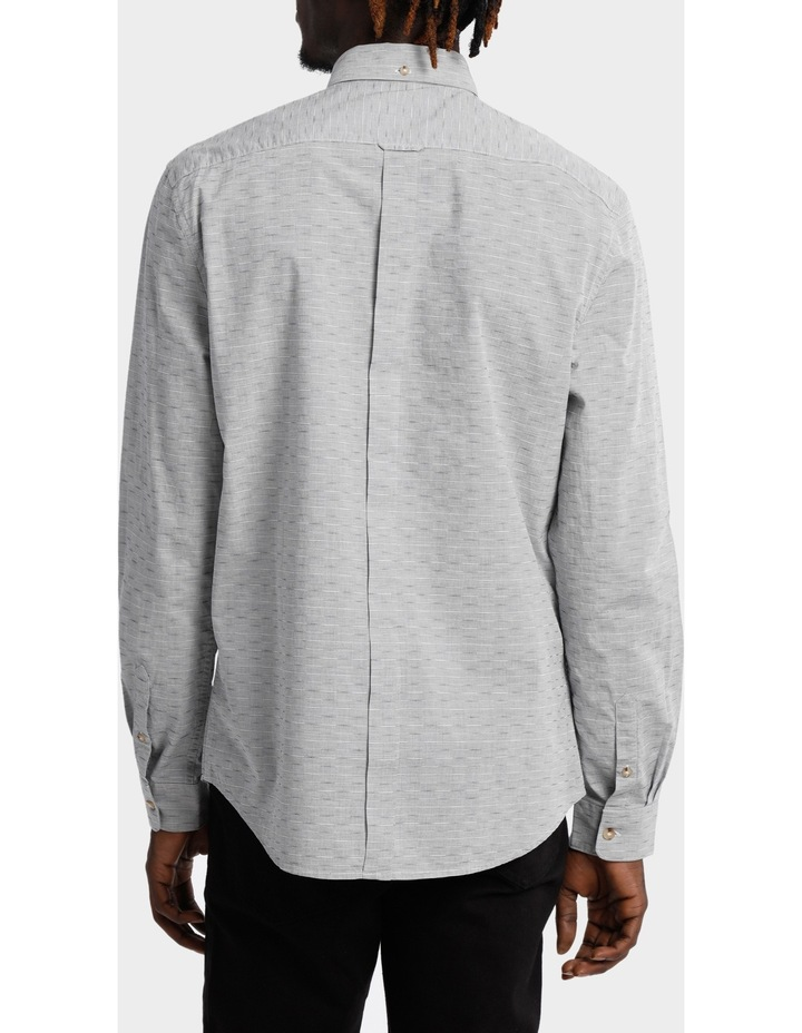 Long Sleeve Geo Texture Shirt image 3