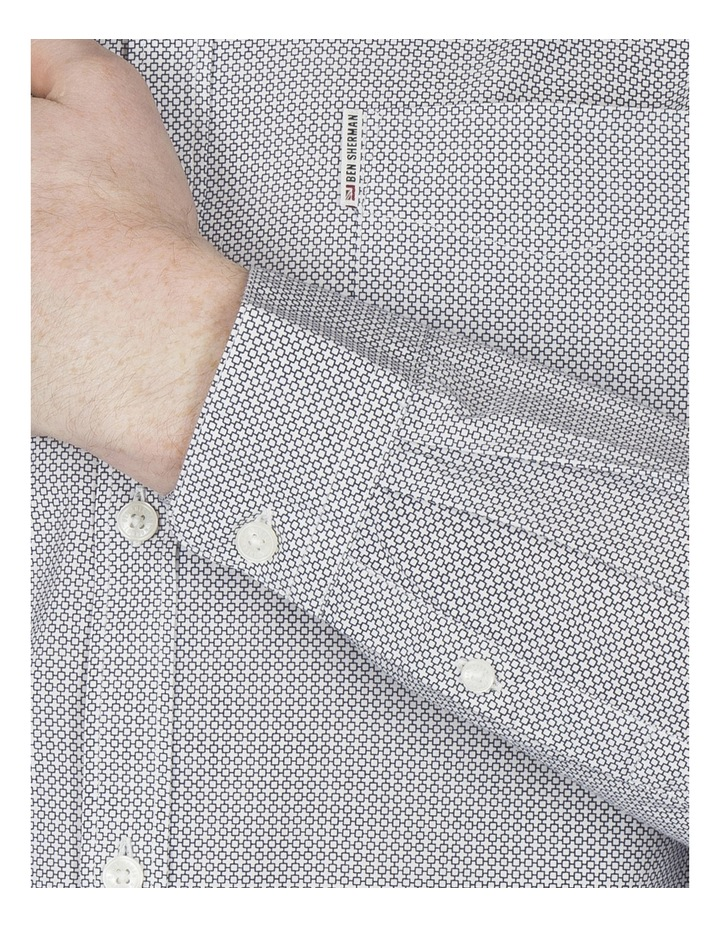 Long Sleeve Micro Linear Square image 5