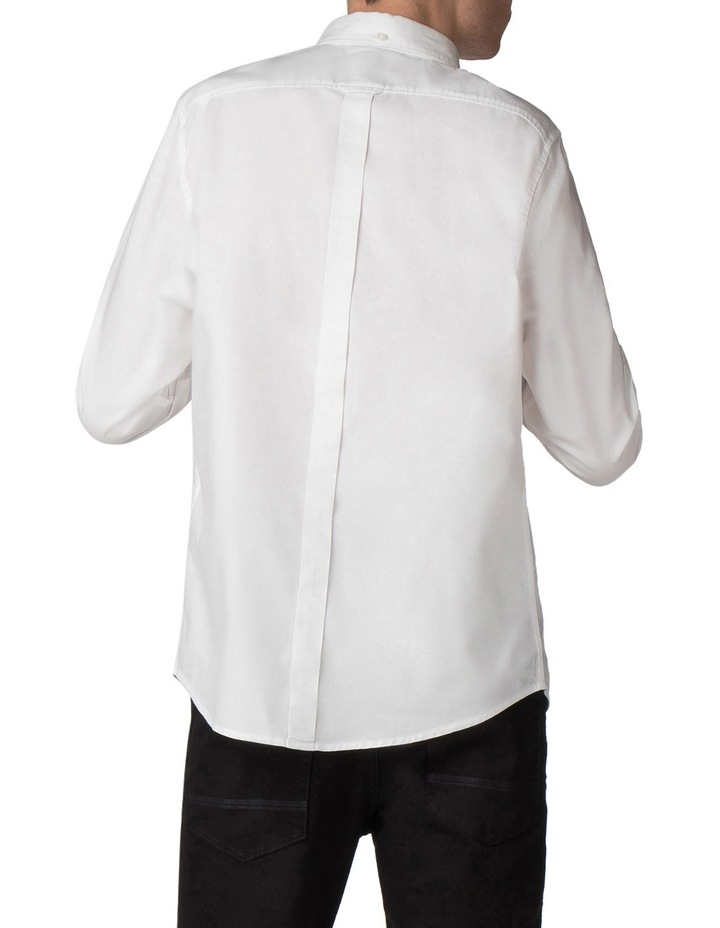 Long Sleeve Classic Oxford White image 2