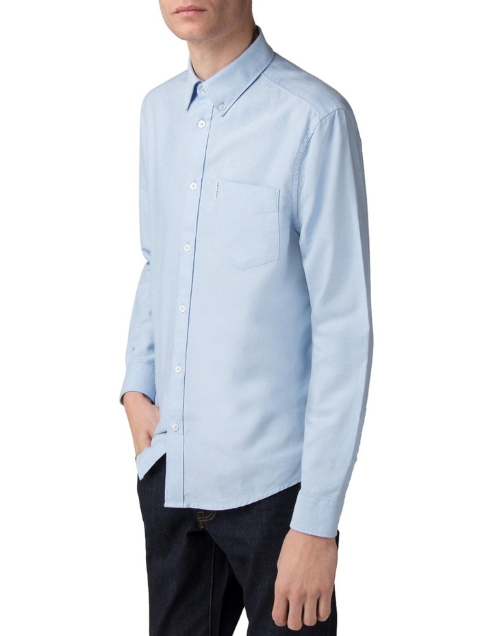Long Sleeve Classic Oxford Blue Shadow image 1