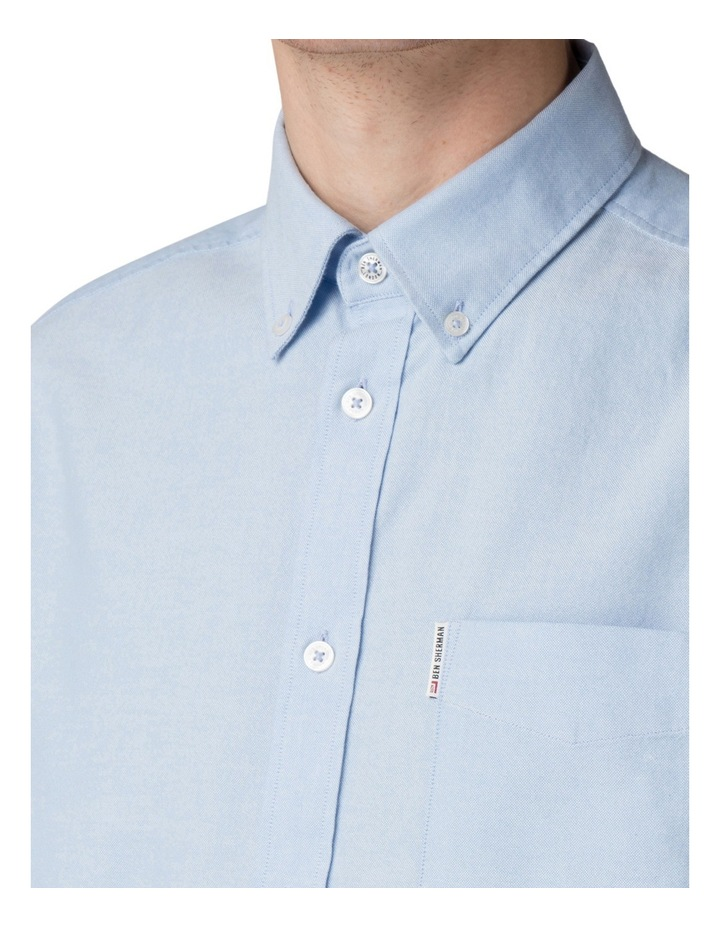 Long Sleeve Classic Oxford Blue Shadow image 5