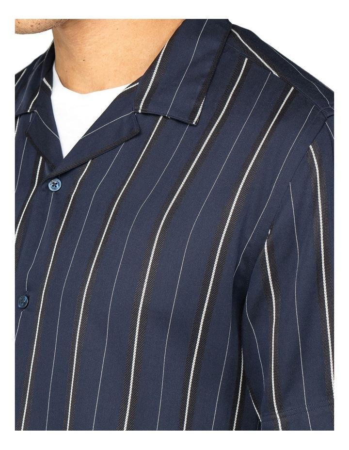 Satin Stripe Short Sleeve Shirt image 2