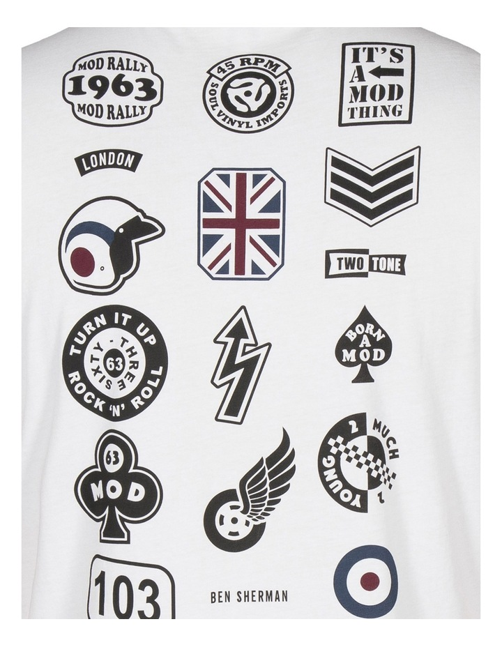 Badge Back Print Tee image 5