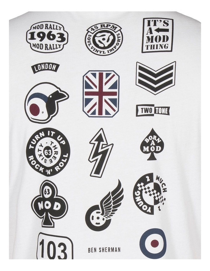 Badge Back Print Tee image 10