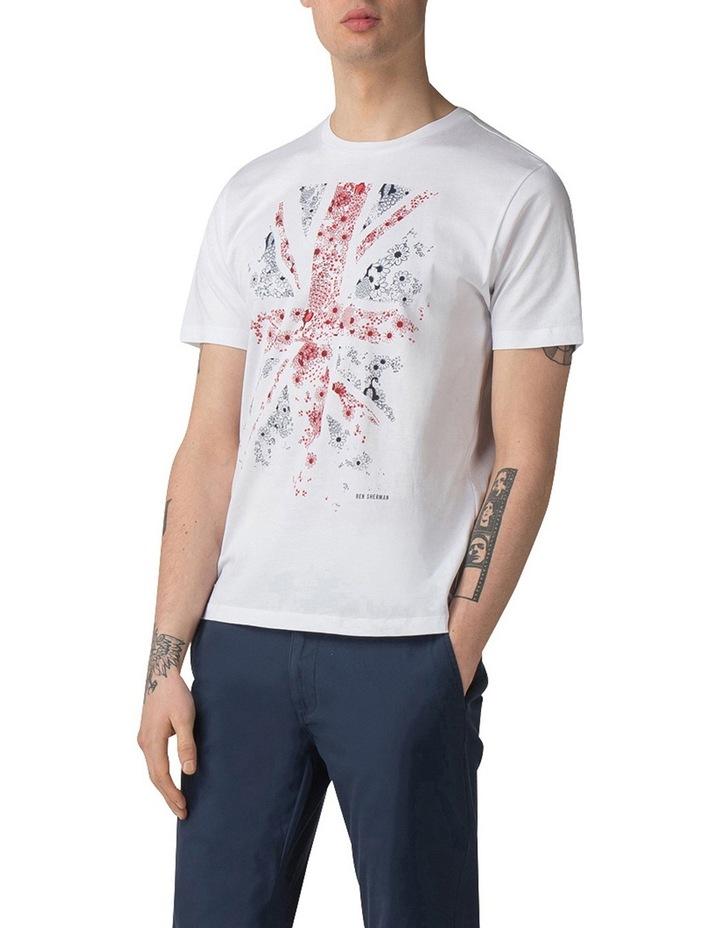 Floral Flag T-Shirt image 1