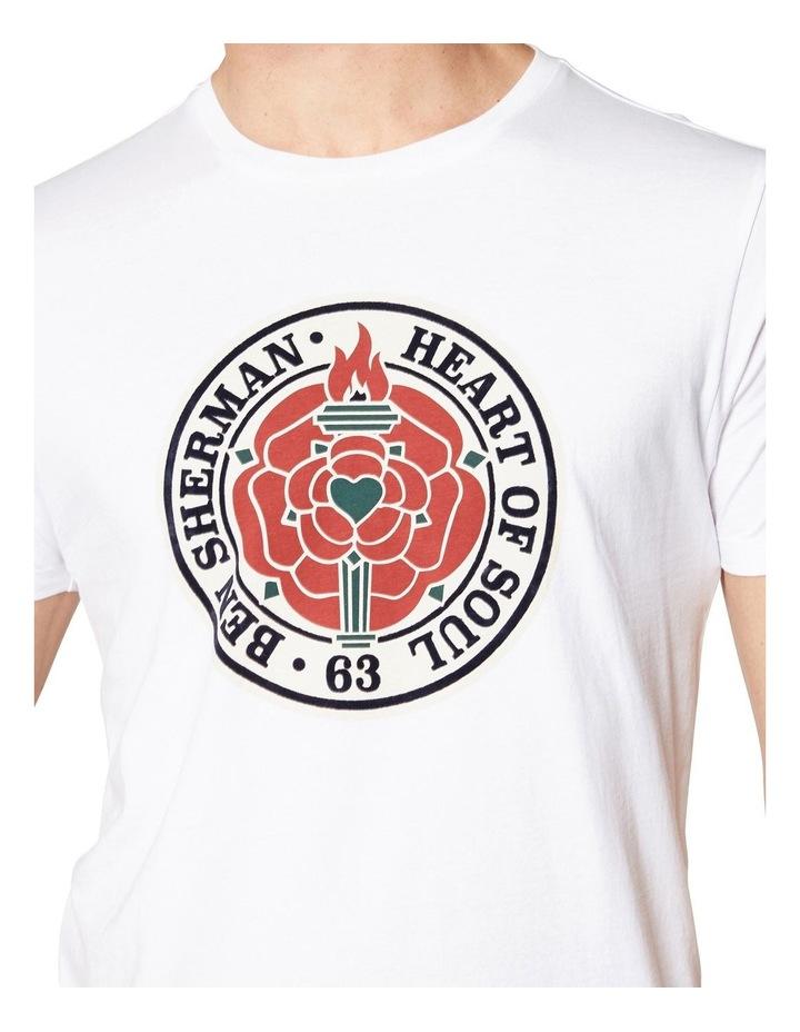 HEART OF SOUL ROSE T-SHIRT WHITE image 5