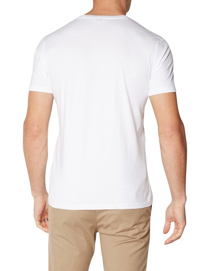Record Flower T-Shirt White image 2