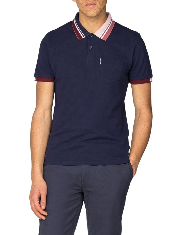 Tipped Interest Pique Polo image 1