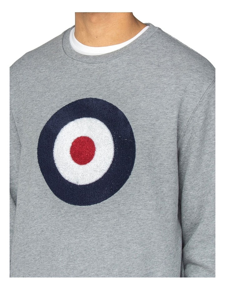 Applique Target Sweat Grey image 3