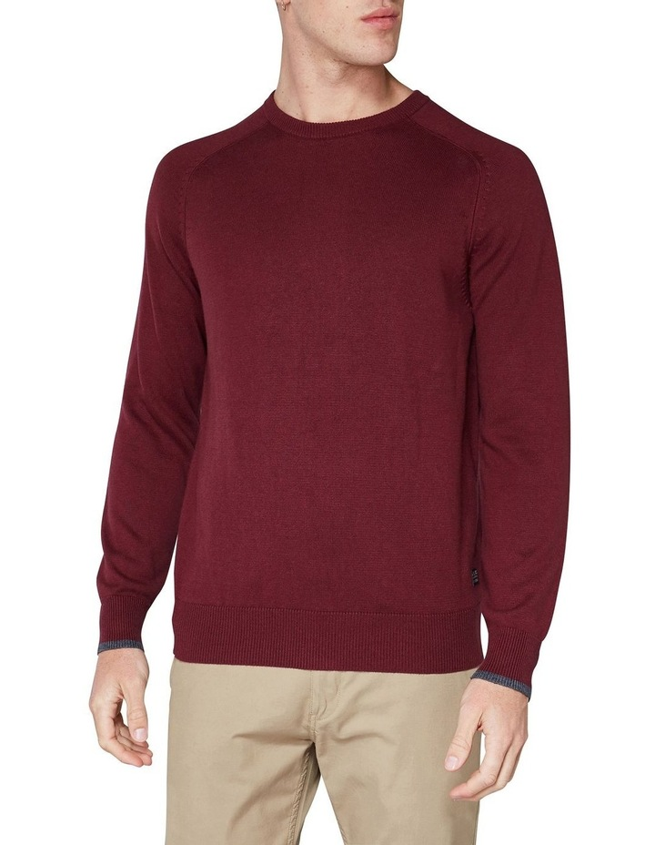 Crew Neck With Cuff Tipping Port image 1