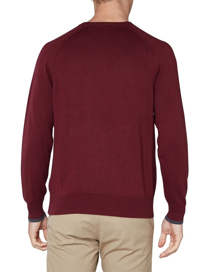 Crew Neck With Cuff Tipping Port image 2