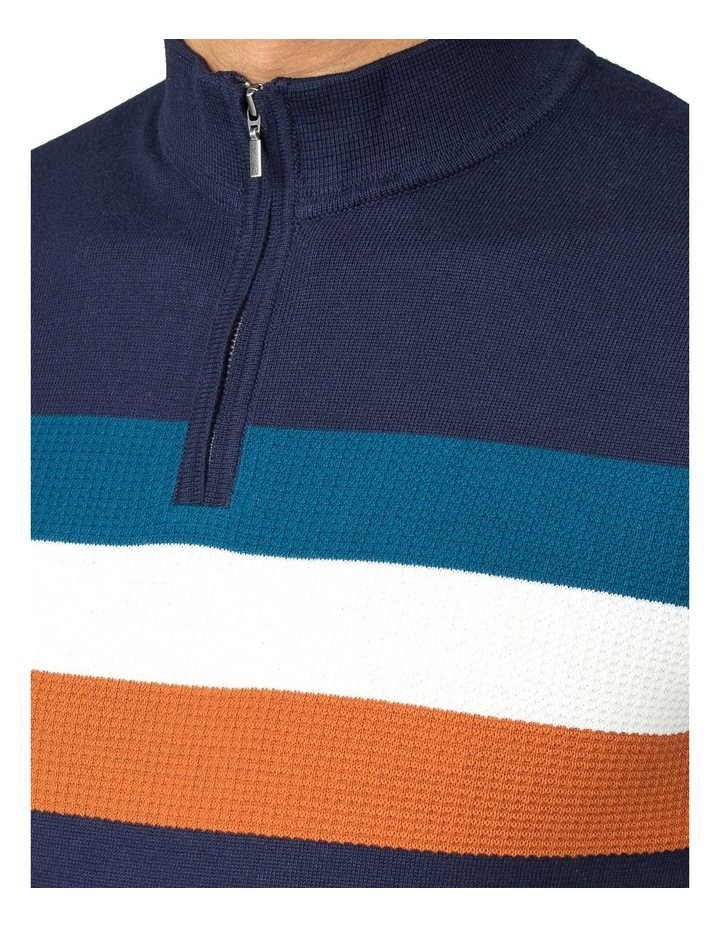 Zip Turtle Neck Knitted Polo Knit image 2
