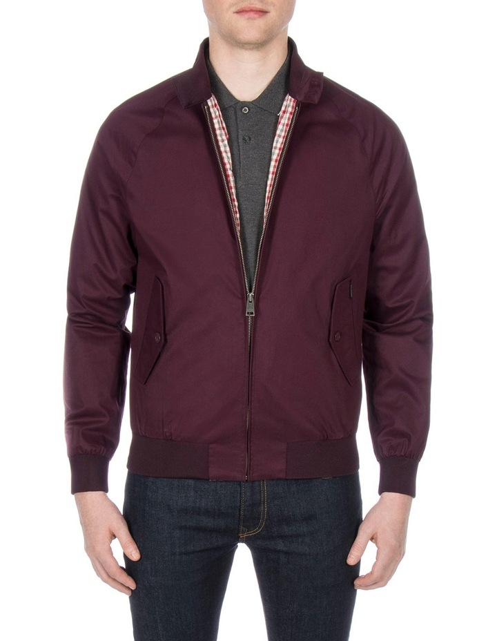 New Core Harrington Wine Jacket image 1