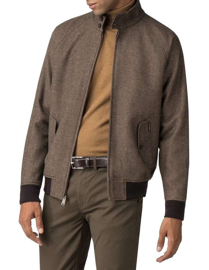 WOOL HARRINGTON JACKET image 1