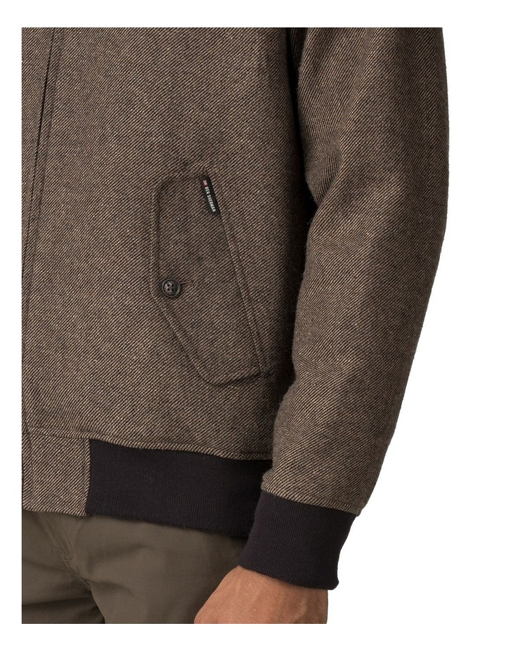 WOOL HARRINGTON JACKET image 3