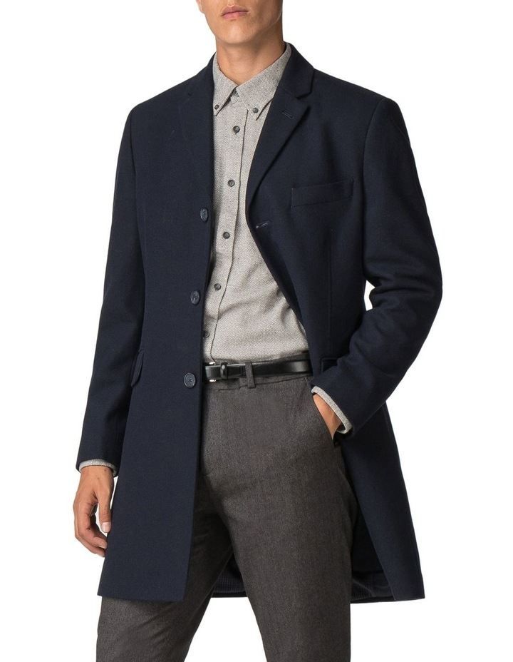 Crombie Coat Dark Navy image 1