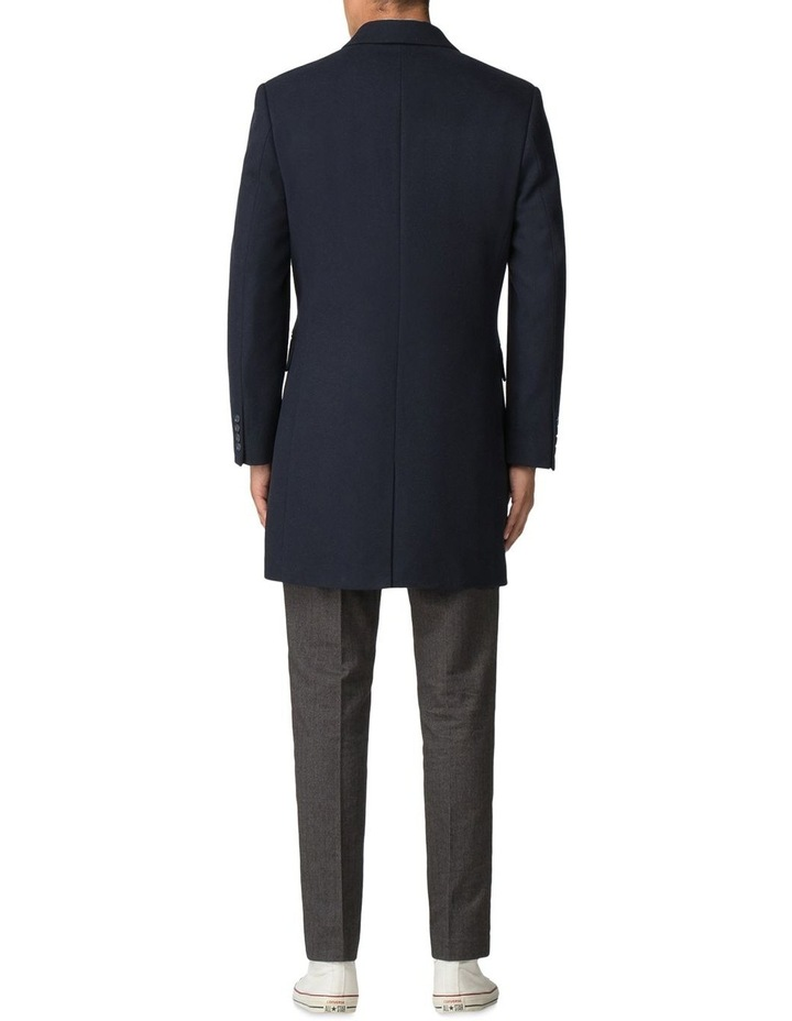 Crombie Coat Dark Navy image 3