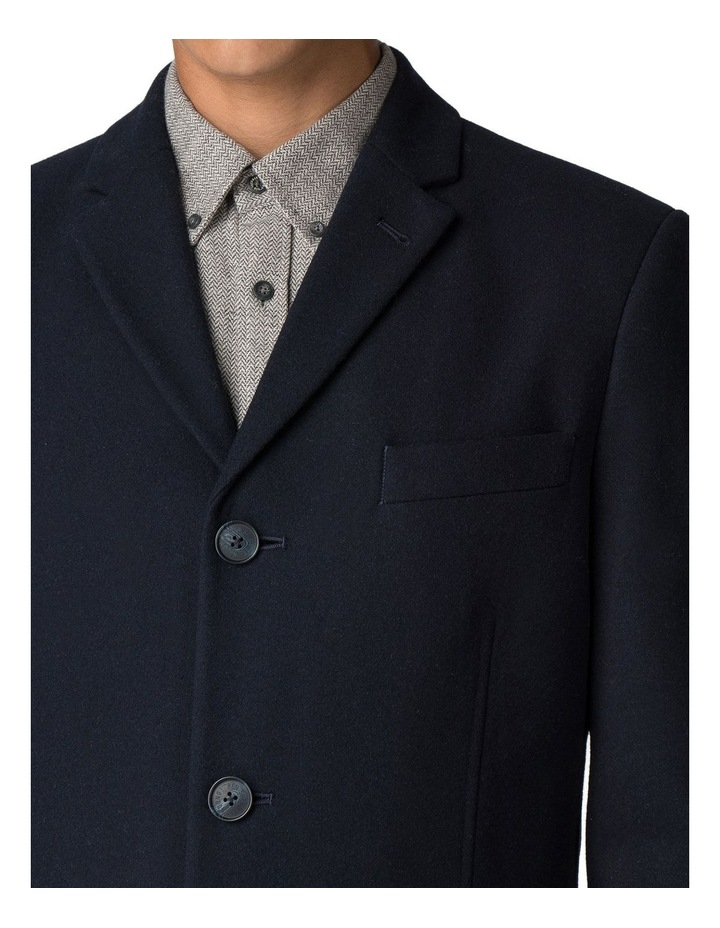 Crombie Coat Dark Navy image 4